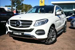 2016 Mercedes-Benz GLE250D 166 White 9 Speed Automatic Wagon.