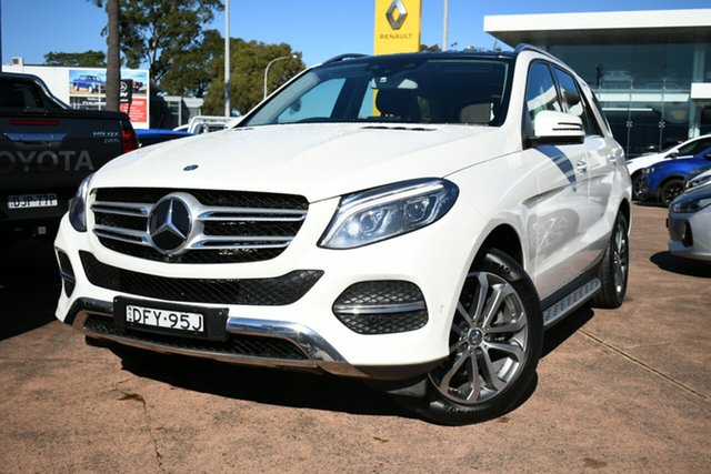 Used Mercedes-Benz GLE250D 166 Brookvale, 2016 Mercedes-Benz GLE250D 166 White 9 Speed Automatic Wagon