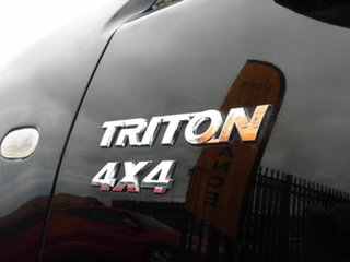 2009 Mitsubishi Triton MN MY10 GLX-R (4x4) Black 5 Speed Automatic 4x4 Double Cab Utility