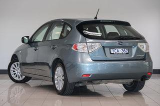 2010 Subaru Impreza G3 MY10 R AWD Sage Green 4 Speed Sports Automatic Hatchback.