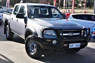 2010 Ford Ranger PK XL Crew Cab Grey 5 Speed Manual Utility.
