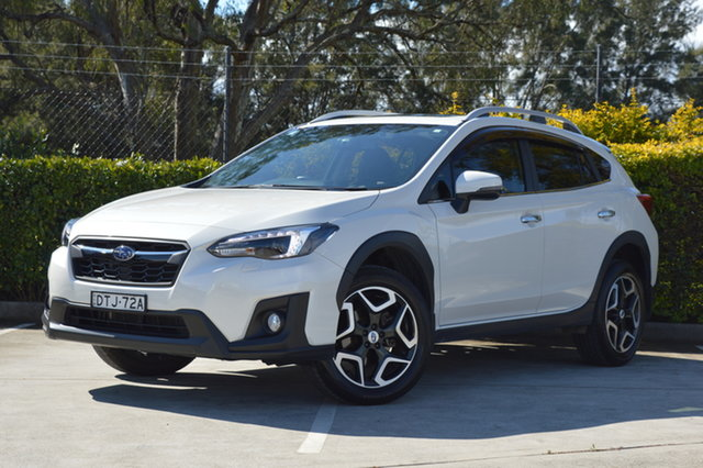 Used Subaru XV G5X MY18 2.0i-S Lineartronic AWD Maitland, 2017 Subaru XV G5X MY18 2.0i-S Lineartronic AWD White 7 Speed Constant Variable Wagon