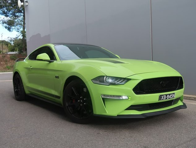 Used Ford Mustang FN 2020MY GT Reynella, 2020 Ford Mustang FN 2020MY GT Green 10 Speed Sports Automatic Fastback
