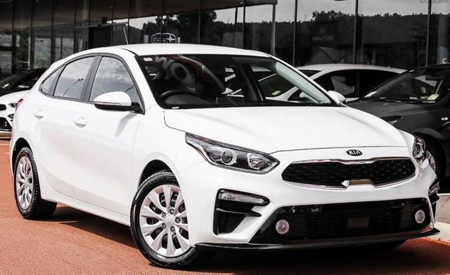Demo Kia Cerato BD MY21 S Hamilton, 2021 Kia Cerato BD MY21 S Clear White 6 Speed Sports Automatic Sedan