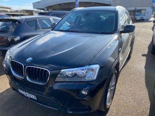 2014 BMW X3 F25 MY1213 xDrive20d Steptronic Black 8 Speed Automatic Wagon.