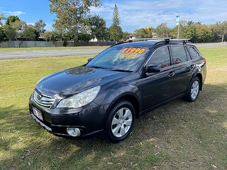 2012 Subaru Outback B5A MY12 2.5i Lineartronic AWD Grey 6 Speed Constant Variable Wagon.