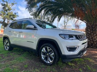 2020 Jeep Compass M6 MY20 Limited White 9 Speed Automatic Wagon.