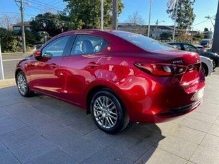 2021 Mazda 2 DL2SAA G15 SKYACTIV-Drive GT Red 6 Speed Sports Automatic Sedan