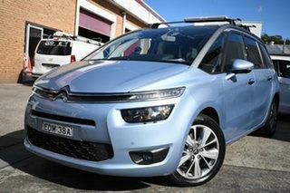 2014 Citroen C4 Grand Picasso MY13 Seduction Blue 6 Speed Automatic Wagon.