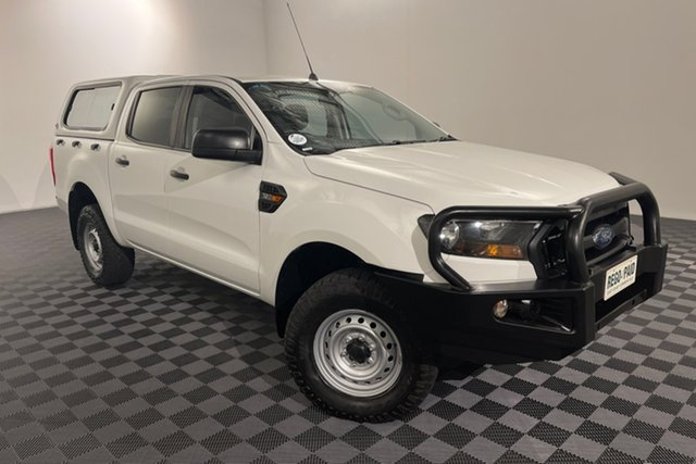 Used Ford Ranger PX MkII XL Acacia Ridge, 2016 Ford Ranger PX MkII XL Cool White 6 speed Automatic Utility