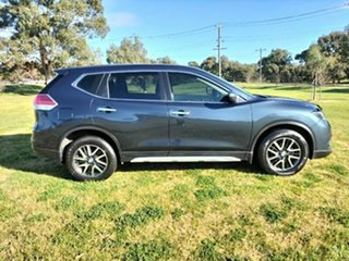 2016 Nissan X-Trail T32 ST X-tronic 2WD N-SPORT Black Blue 7 Speed Constant Variable Wagon