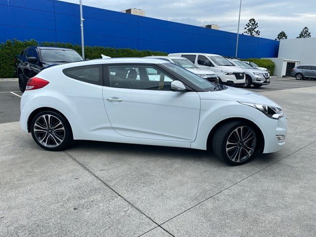 Used Hyundai Veloster FS4 Series II Coupe D-CT Aspley, 2016 Hyundai Veloster FS4 Series II Coupe D-CT White 6 Speed Sports Automatic Dual Clutch Hatchback