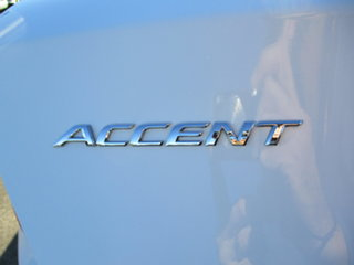 2013 Hyundai Accent RB Active White 5 Speed Manual Hatchback