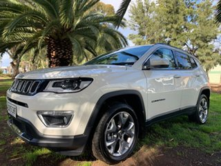 2020 Jeep Compass M6 MY20 Limited White 9 Speed Automatic Wagon