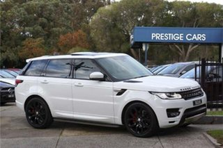 2017 Land Rover Range Rover Sport L494 17MY SE White 8 Speed Sports Automatic Wagon.