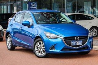 2017 Mazda 2 DJ2HAA Maxx SKYACTIV-Drive Blue 6 Speed Sports Automatic Hatchback.