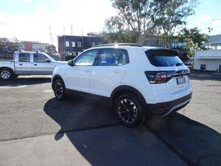 2020 Volkswagen T-Cross C1 MY21 85TSI DSG FWD Life Pure White 7 Speed Automatic Wagon.