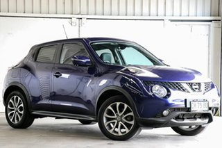 2017 Nissan Juke F15 Series 2 Ti-S X-tronic AWD Blue 1 Speed Constant Variable Hatchback.