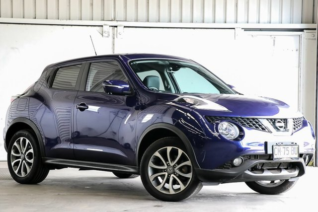 Used Nissan Juke F15 Series 2 Ti-S X-tronic AWD Laverton North, 2017 Nissan Juke F15 Series 2 Ti-S X-tronic AWD Blue 1 Speed Constant Variable Hatchback