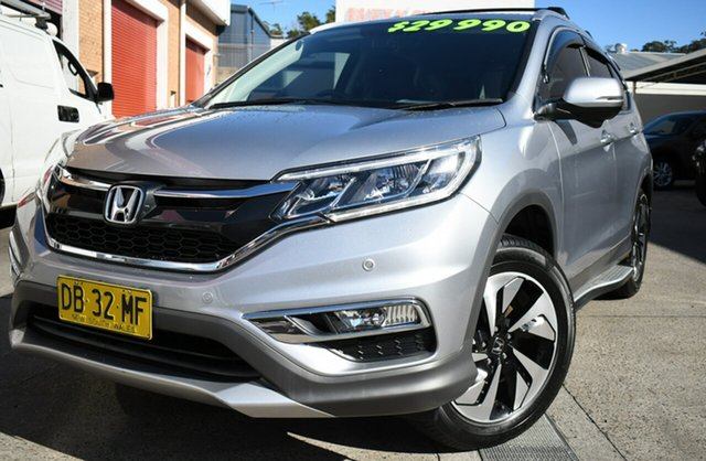 Used Honda CR-V RM Series II MY17 Limited Edition 4WD Narrabeen, 2016 Honda CR-V RM Series II MY17 Limited Edition 4WD Silver 5 Speed Sports Automatic Wagon