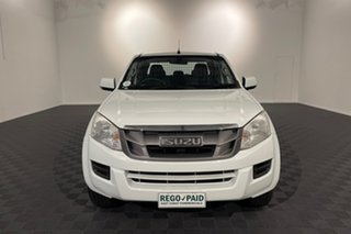 2015 Isuzu D-MAX MY15 SX Crew Cab White 5 speed Automatic Cab Chassis.