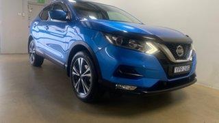 2018 Nissan Qashqai J11 MY18 ST-L Blue Continuous Variable Wagon.