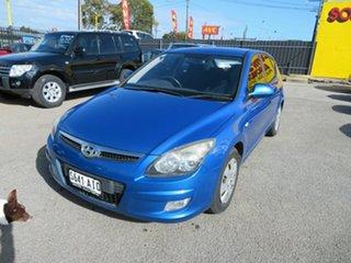 2010 Hyundai i30 FD MY10 SX 1.6 CRDi Blue 5 Speed Manual Hatchback.
