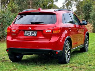2016 Mitsubishi ASX XC MY17 XLS 2WD Red 6 Speed Constant Variable Wagon