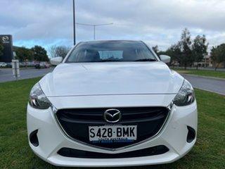 2016 Mazda 2 DJ2HAA Maxx SKYACTIV-Drive White 6 Speed Sports Automatic Hatchback.