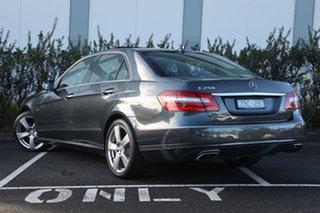 2012 Mercedes-Benz E-Class W212 MY12 E250 BlueEFFICIENCY 7G-Tronic + Avantgarde Tenorite Grey.