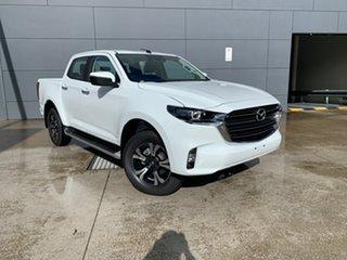 2021 Mazda BT-50 TFR40J XTR 4x2 Ice White 6 Speed Sports Automatic Utility.