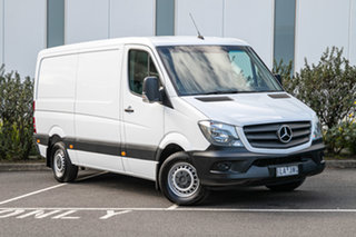2017 Mercedes-Benz Sprinter NCV3 313CDI Low Roof MWB 7G-Tronic Arctic White 7 Speed Sports Automatic.