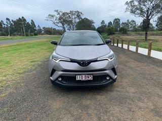 2018 Toyota C-HR NGX10R Koba S-CVT 2WD Shadow Platinum & Black Roof 7 Speed Constant Variable Wagon.