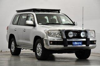 2008 Toyota Landcruiser VDJ200R GXL Silver 6 Speed Sports Automatic Wagon