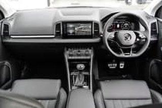 2021 Skoda Karoq NU MY21 110TSI FWD Green 8 Speed Automatic Wagon.