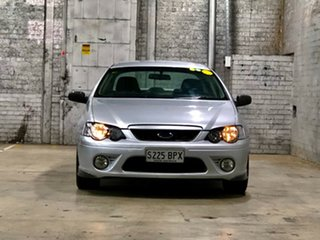 2008 Ford Falcon BF Mk II XR6 Silver 4 Speed Sports Automatic Sedan.