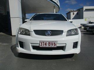 2008 Holden Commodore VE MY09 SV6 White 5 Speed Automatic Sedan