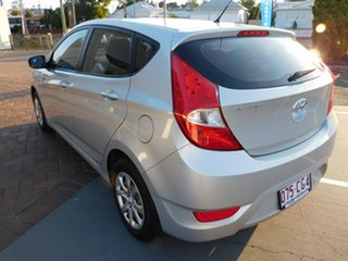 2014 Hyundai Accent RB2 MY15 Active Silver 6 Speed Manual Hatchback