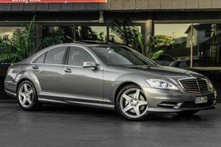2011 Mercedes-Benz S-Class V221 MY11 S350 BlueEFFICIENCY L 7G-Tronic + Grey 7 Speed Sports Automatic.