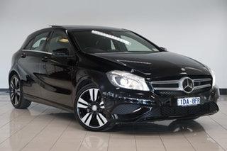 2014 Mercedes-Benz A-Class W176 A200 CDI D-CT Night Black 7 Speed Sports Automatic Dual Clutch.