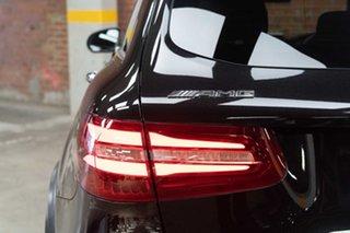 2017 Mercedes-Benz GLC-Class X253 808MY GLC43 AMG 9G-Tronic 4MATIC Obsidian Black 9 Speed