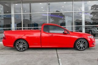 2011 Ford Falcon FG XR6 Ute Super Cab Limited Edition Red 6 Speed Sports Automatic Utility.