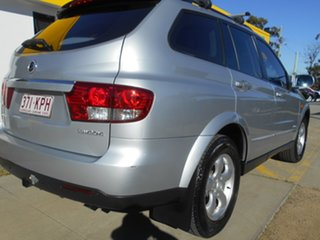 2007 Ssangyong Kyron D100 M270 XDi Silver 5 Speed Sports Automatic Wagon