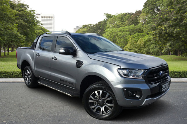Used Ford Ranger PX MkIII 2019.00MY Wildtrak Paradise, 2019 Ford Ranger PX MkIII 2019.00MY Wildtrak Billet Silver 10 Speed Sports Automatic