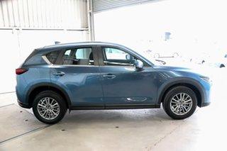 2017 Mazda CX-5 KF2W7A Maxx SKYACTIV-Drive FWD Sport Blue 6 Speed Sports Automatic Wagon