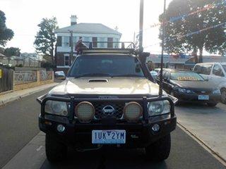 2006 Nissan Patrol GU IV ST (4x4) Gold 4 Speed Automatic Wagon.