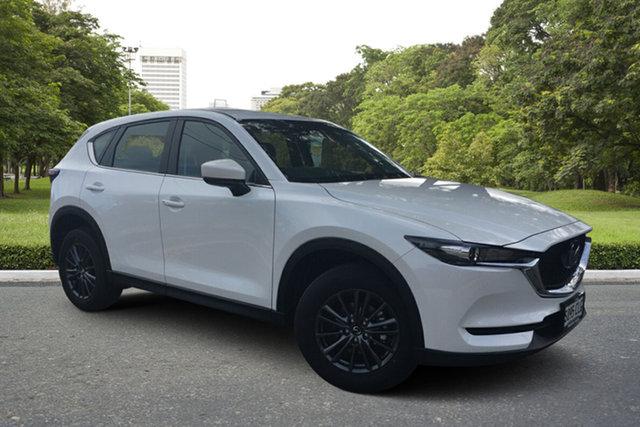 Demo Mazda CX-5 KF2W7A Maxx SKYACTIV-Drive FWD Paradise, 2021 Mazda CX-5 KF2W7A Maxx SKYACTIV-Drive FWD White Pearl 6 Speed Sports Automatic Wagon