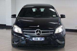 2014 Mercedes-Benz A-Class W176 A200 CDI D-CT Night Black 7 Speed Sports Automatic Dual Clutch