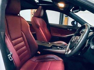 2014 Lexus IS GSE31R IS350 F Sport White 8 Speed Sports Automatic Sedan.