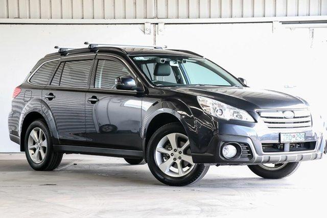 Used Subaru Outback B5A MY13 2.5i Lineartronic AWD Premium Laverton North, 2013 Subaru Outback B5A MY13 2.5i Lineartronic AWD Premium Grey 6 Speed Constant Variable Wagon